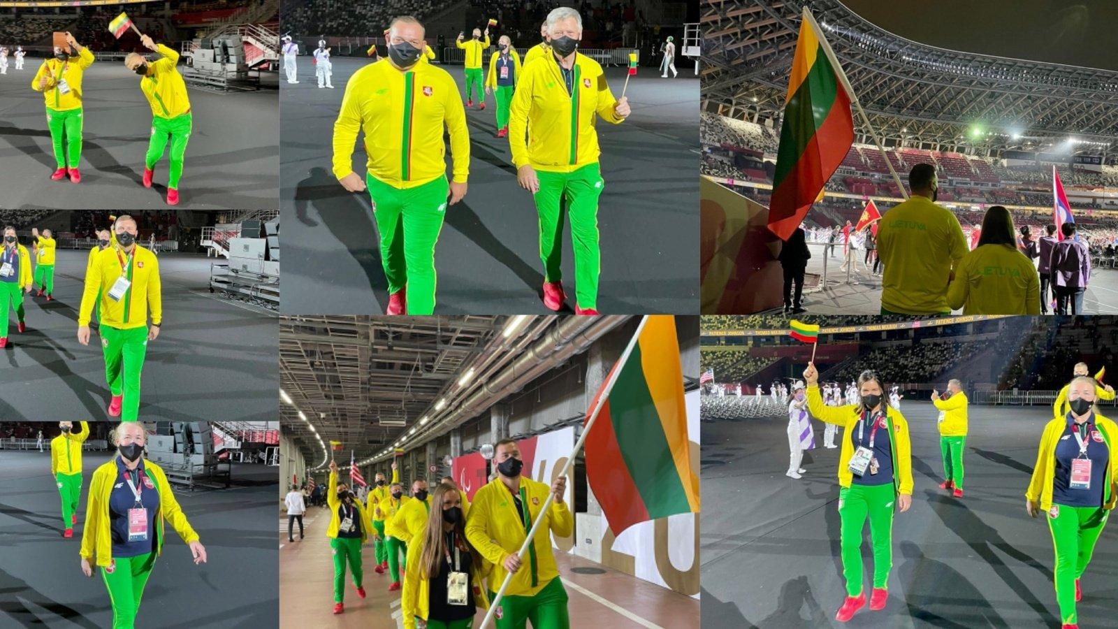 Atidarytos Tokijo vasaros paralimpinės žaidynės