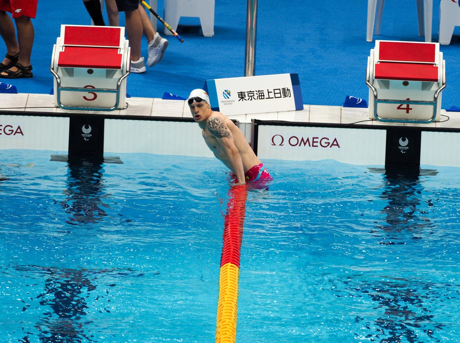 Edgaras Matakas pirmu numeriu įsiveržė į paralimpinių žaidynių finalą
