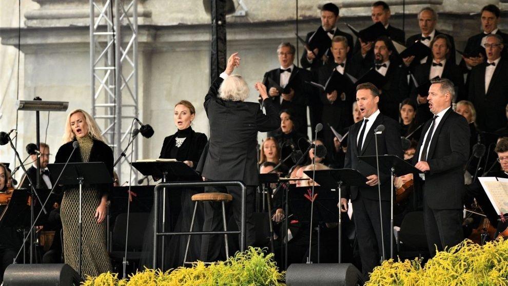 Pažaislio muzikos festivalis paskutinį kartą nusilenkė maestro Petrui Bingeliui
