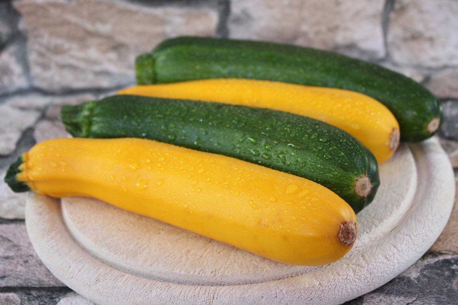 Rudens daržovė cukinija: naudinga ir žalia, ir paruošta
