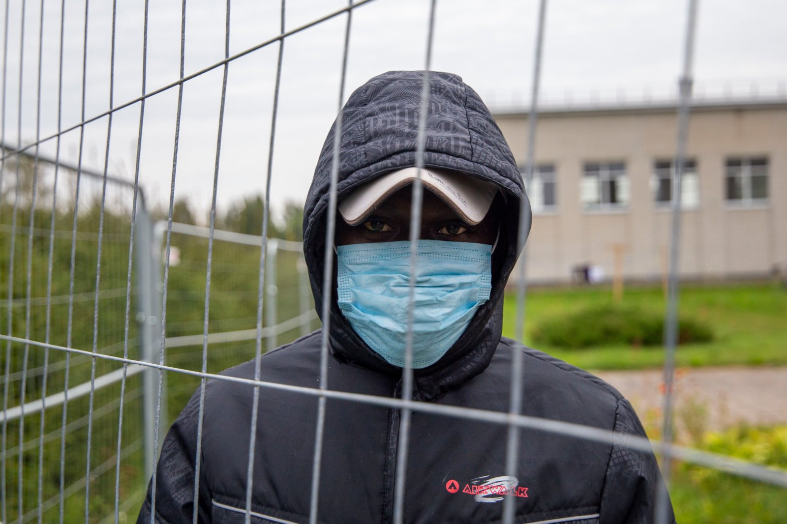 Koronavirusu šiuo metu serga beveik pusšimtis neteisėtai sieną kirtusių migrantų