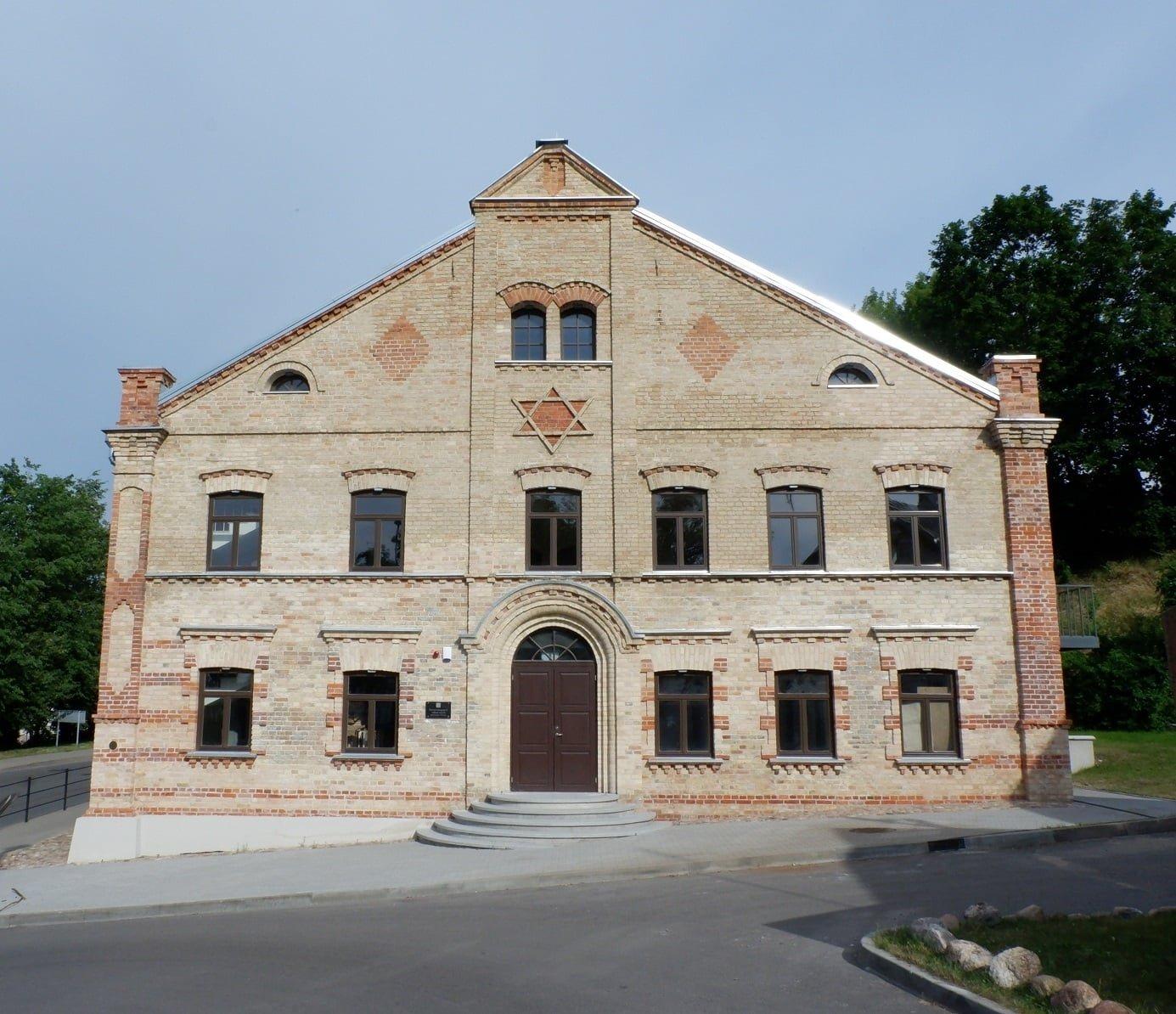 Buvusi Alytaus sinagoga atveria duris