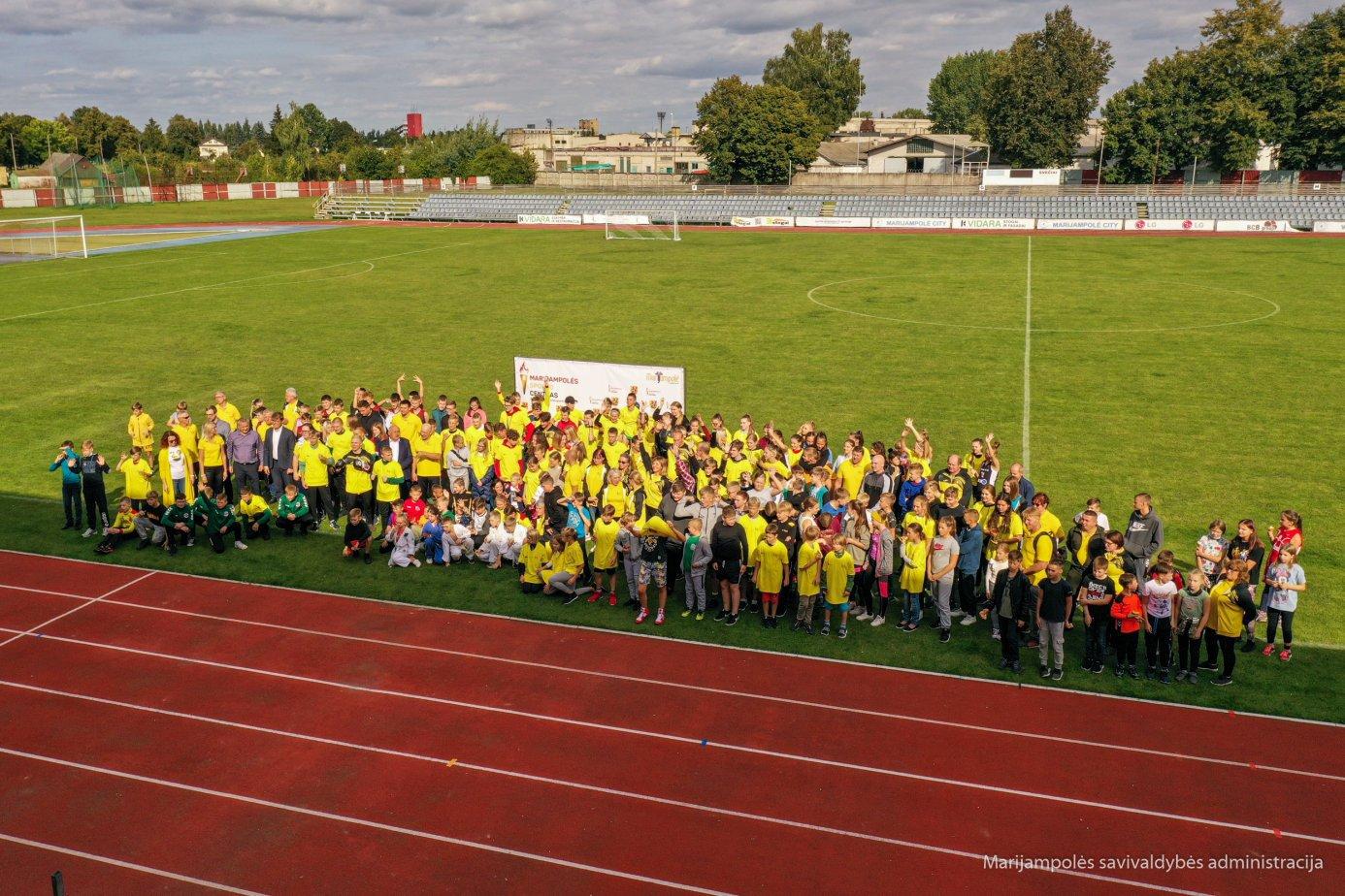 Marijampolės sporto centras pradėjo naują sezoną