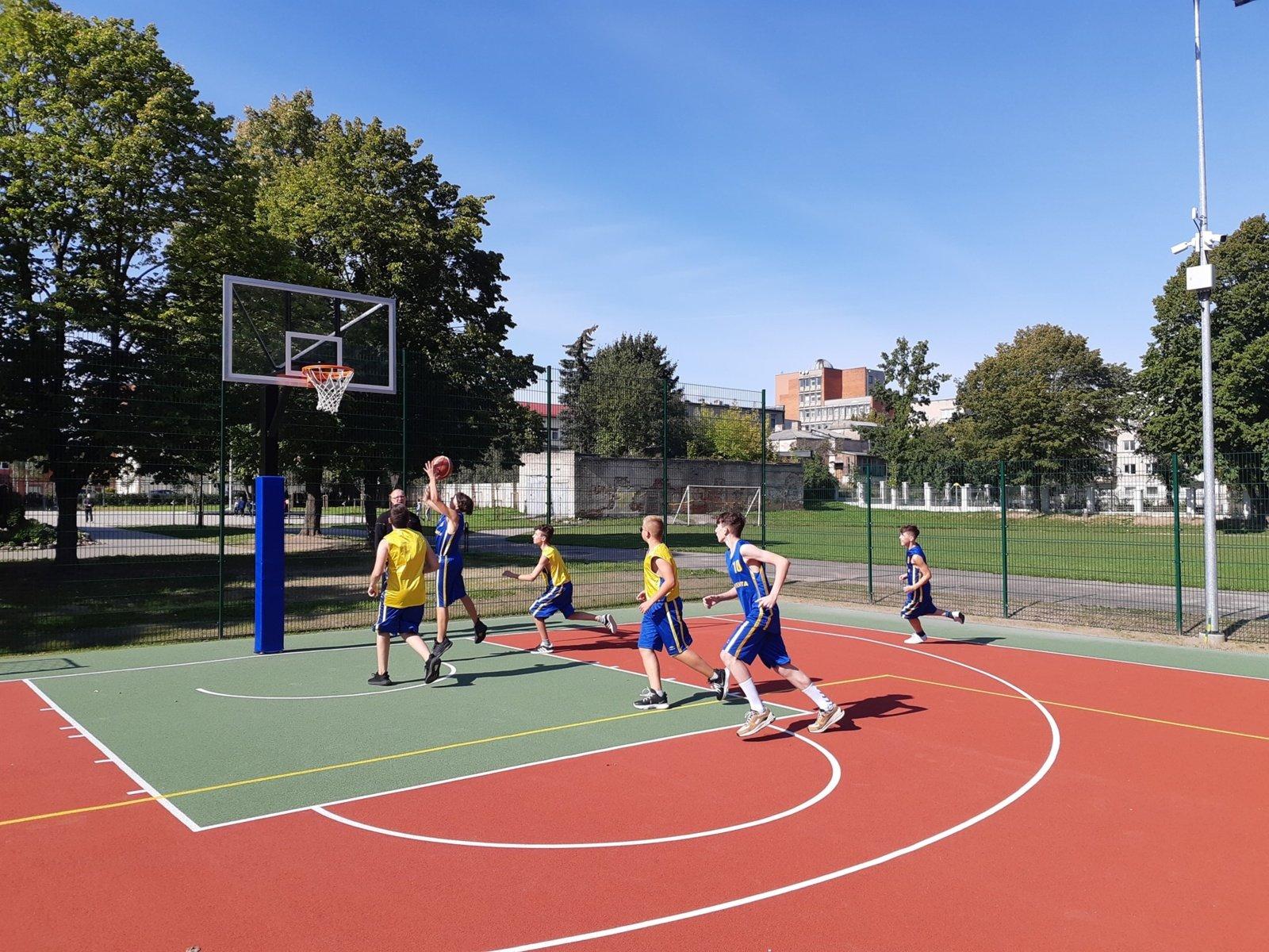 Nauja sporto aikštelė – naujos galimybės