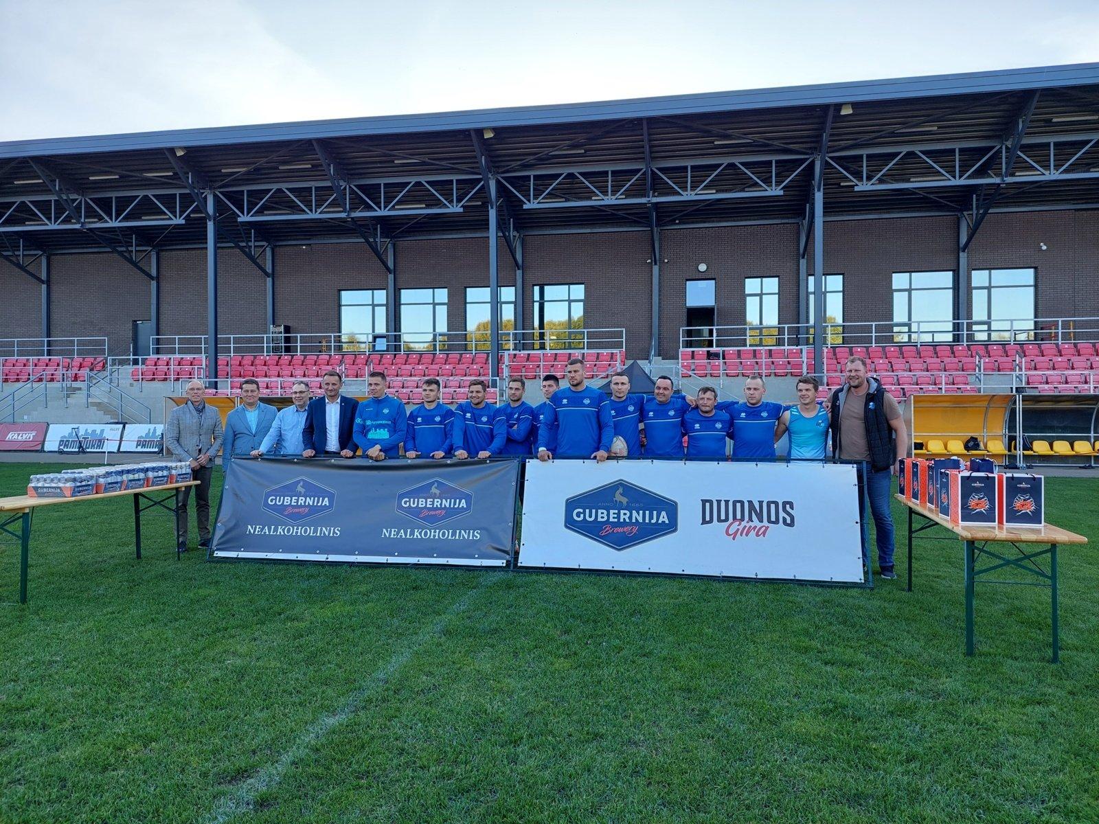 Pasveikinti Europos klubų čempionų taurės vicečempionai