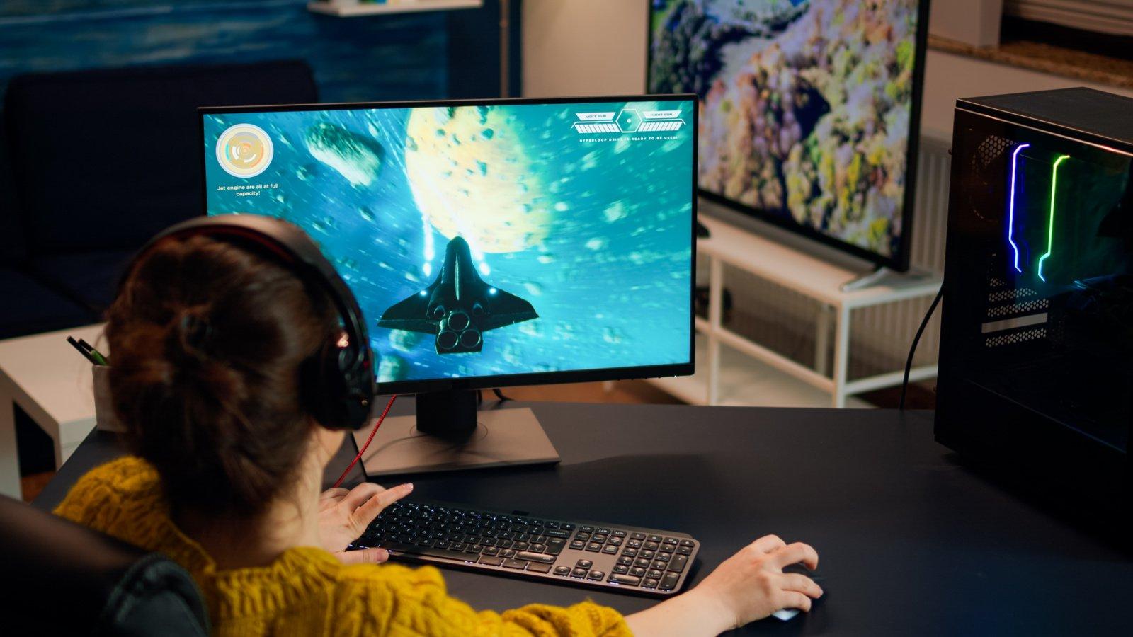 Žaisti vaizdo žaidimus – tik 3 valandas per savaitę