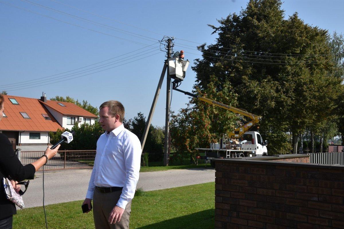 LED gatvių apšvietimas – ir Marijampolės savivaldybės kaimiškosiose seniūnijose