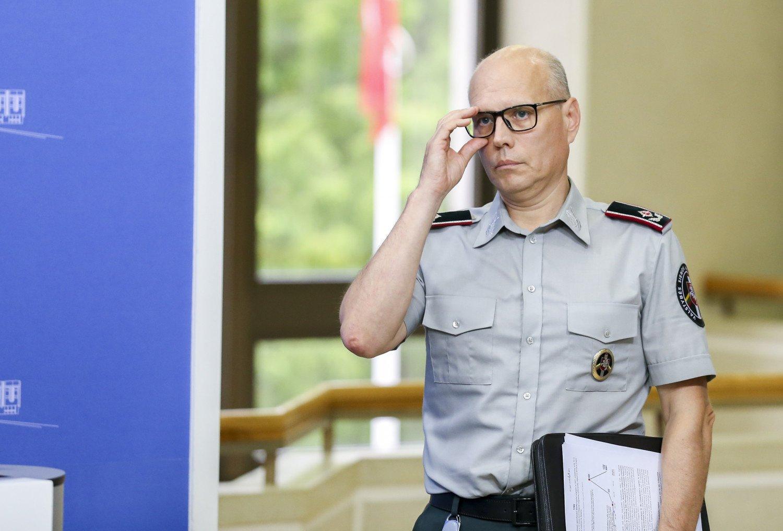 """R. Liubajevas: prasidėjus """"Zapad 2021"""" pratyboms ypatingų pokyčių pasienyje su Baltarusija nefiksuojame"""