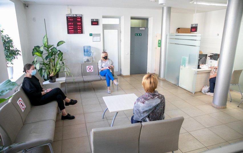 Šiaulių teritorinė ligonių kasa aptarnaus ir be galimybių paso
