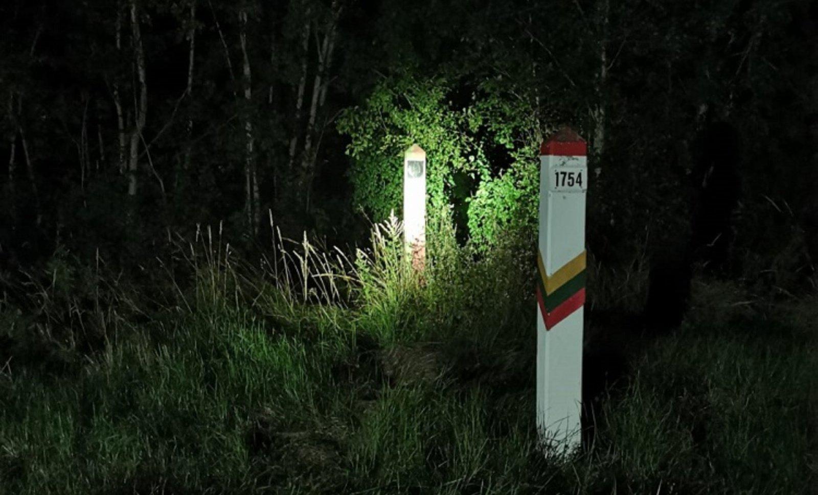 Prie sienos su Baltarusija sulaikyti 5 migrantai pasiprašė prieglobsčio Lietuvoje