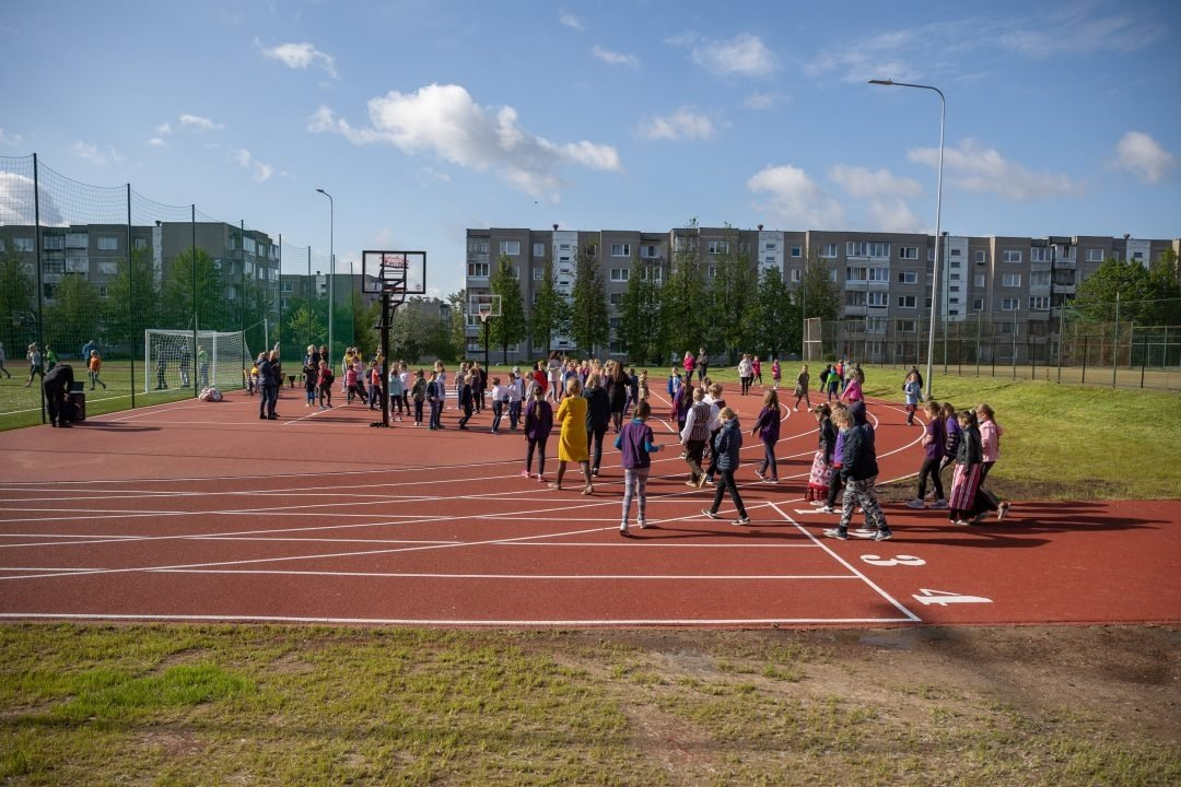 """Mokyklų aikštynus atidarys renginių ciklas """"Sportuok kaip olimpietis"""""""