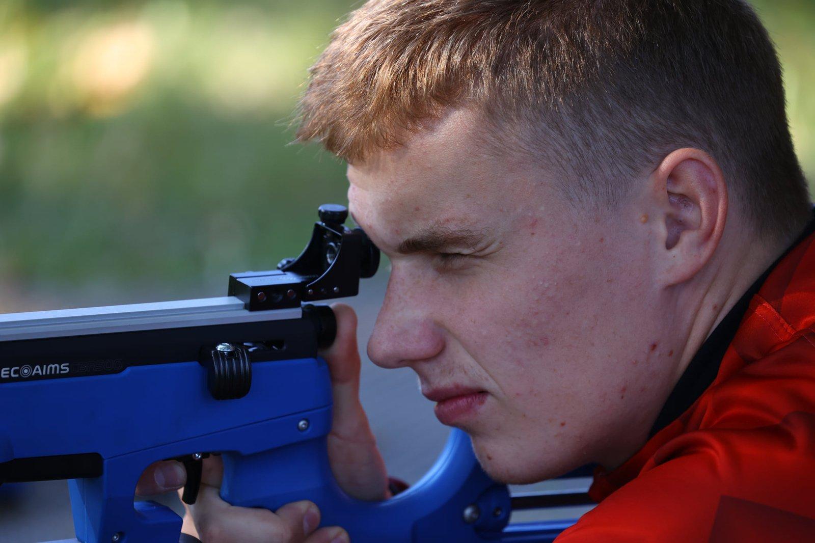 Anykštėnai varžėsi biatlono čempionate Latvijoje