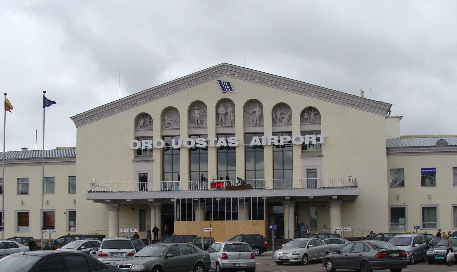 M. Skuodis: pagrindinis Vilniaus oro uosto pastatas turi būti griaunamas ir statomas naujas