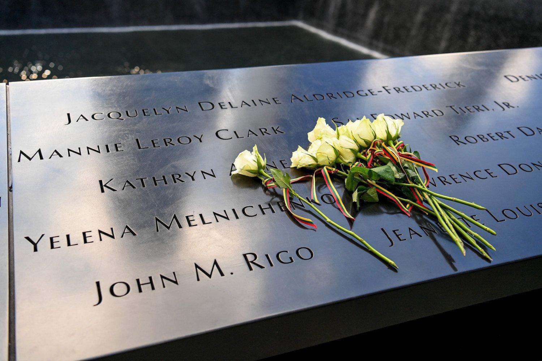G. Landsbergis Niujorke pagerbė per Rugsėjo 11-osios atakas žuvusios lietuvės atminimą