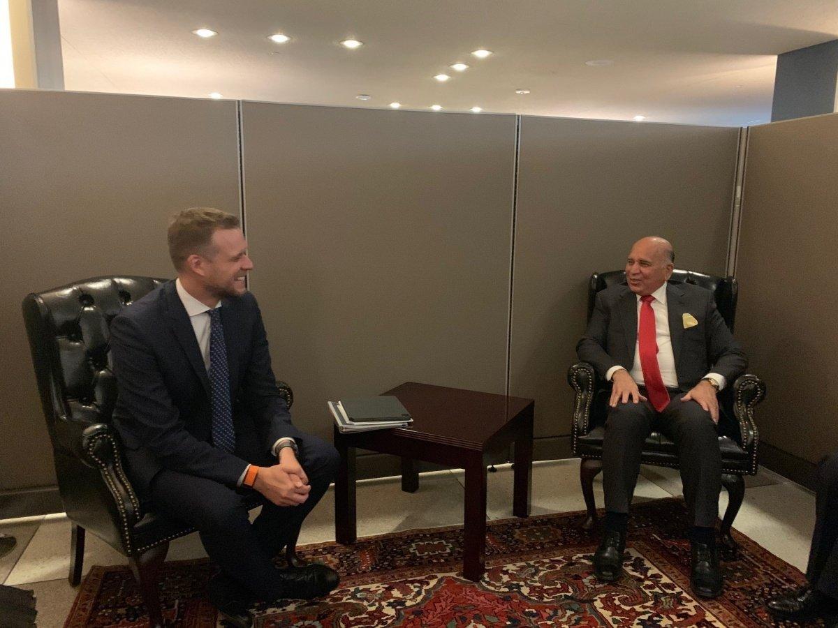 G. Landsbergis su Kazachstano užsienio reikalų ministru aptarė situaciją regione