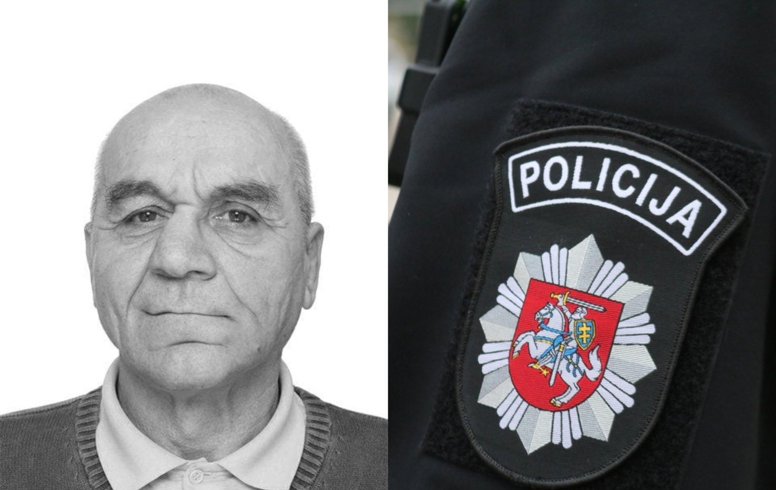 Švenčionių pareigūnai prašo visuomenės pagalbos: ieškomas be žinios dingęs vyras