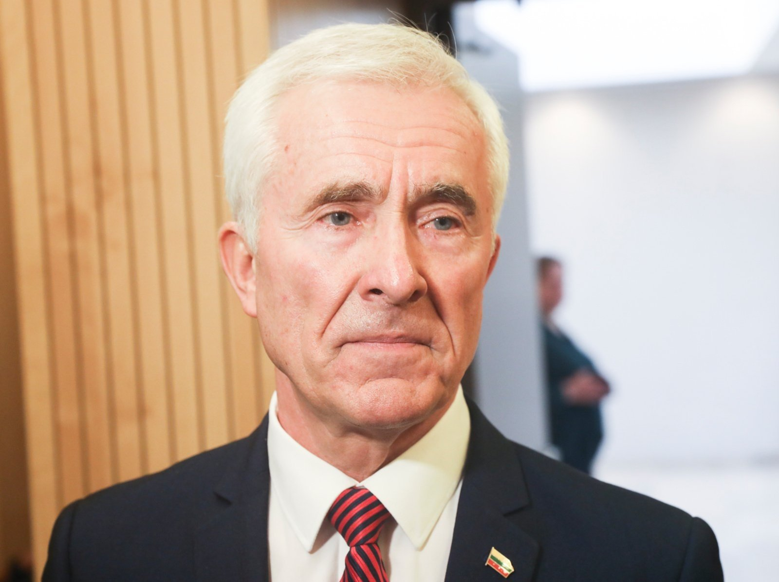 D. Kepenis sako dėl pandemijos suvaržymų negalintis atlikti savo Seimo nario pareigų