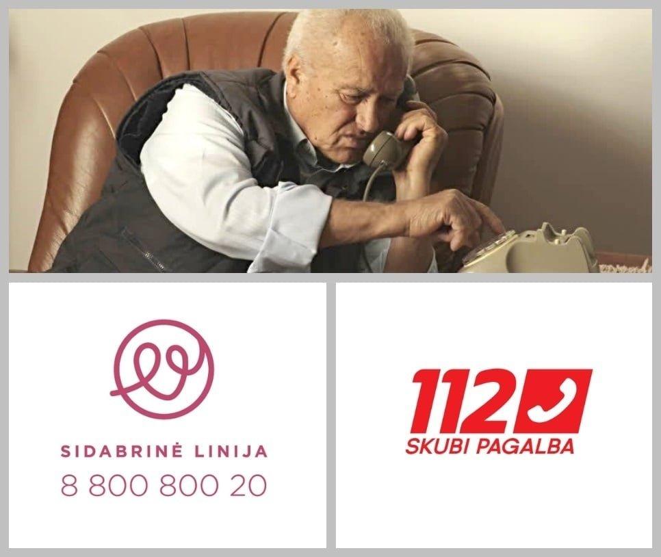 Ignalinietis numeriu 112 per du mėnesius paskambino 253 kartus