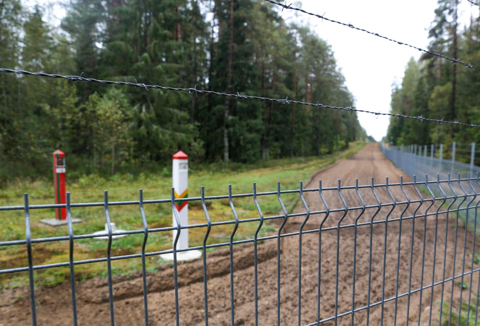 Estija pratęsė bepiločių misiją Lietuvos sienos apsaugai nuo migrantų iš Baltarusijos