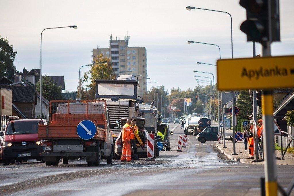 Dėl remonto darbų Panevėžio centre galimi transporto eismo sutrikimai