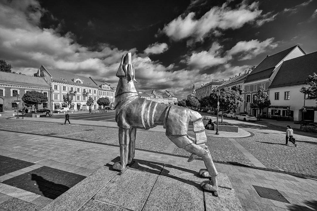 Rotušės aikštėje vakarais 100 vilkų kauksmas primins miesto įkūrimo legendą