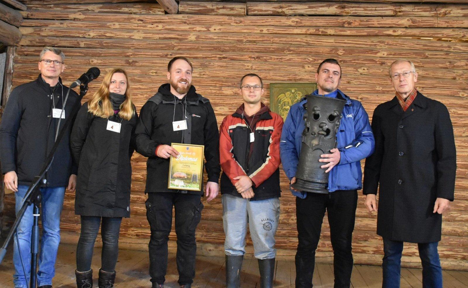 Per grybavimo čempionatą Varėnos rajone surinkti 102 kg grybų