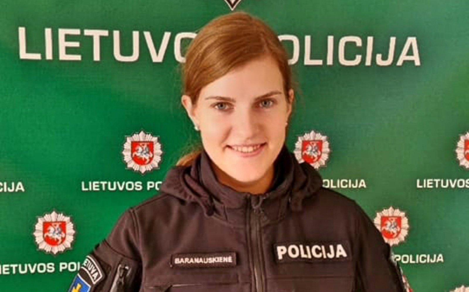 Pasvalio rajono policijos pajėgas papildė nauja pareigūnė