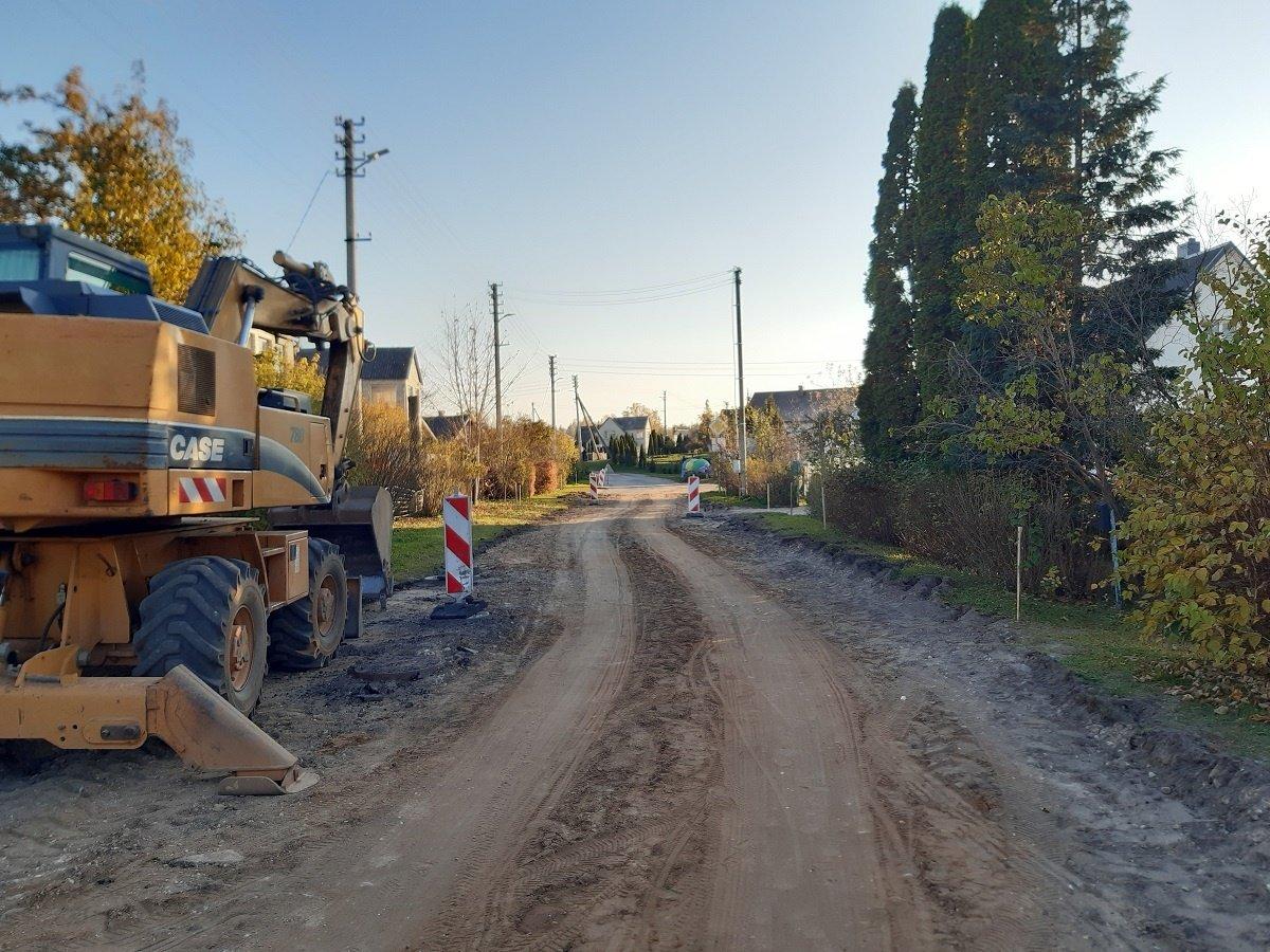 Gražėja Ignalinos miesto gatvės