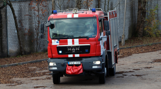Vilniaus rajone dega angaras