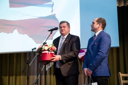 Aucė pasveikinta su Latvijos Nepriklausomybės diena