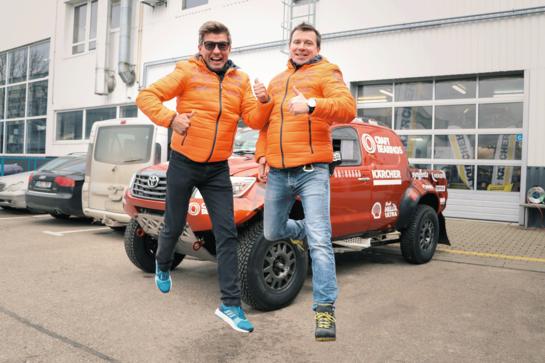 Lietuvos ekipažai įveikė Dakaro techninės komisijos procedūras