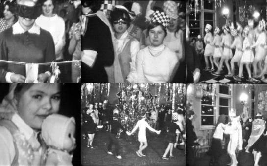 Naujametinis karnavalas Šiauliuose. Kaip mes šventėme prieš 50 metų.