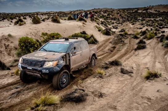 Atšauktas devintasis Dakaro ralio etapas