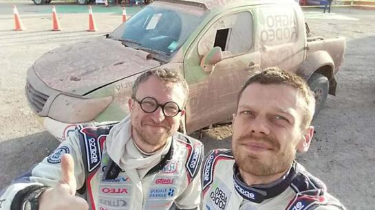 Pirmas Dakaro ralio etapas Argentinoje V. Žalai baigėsi 21-ojoje vietoje