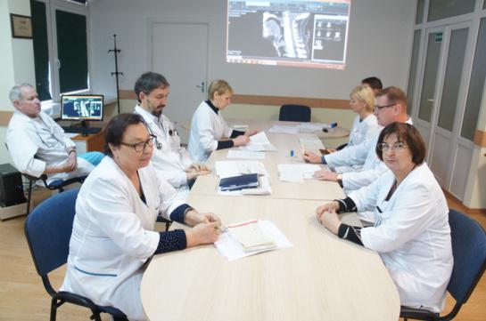 Multidisciplininė komanda: pažangi onkologinės ligos diagnozės ir gydymo taktika