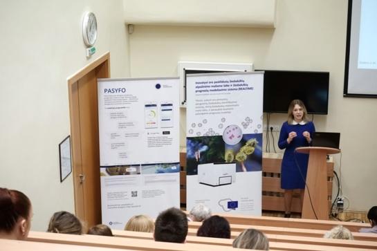 Santaros klinikose pristatyta Šiaulių universiteto mokslininkų sukurta alergijos simptomų prognozių sistema