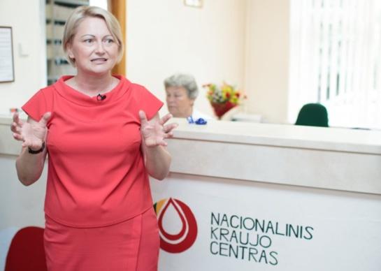 Kraujo centro vadovė J. Bikulčienė paleista į laisvę