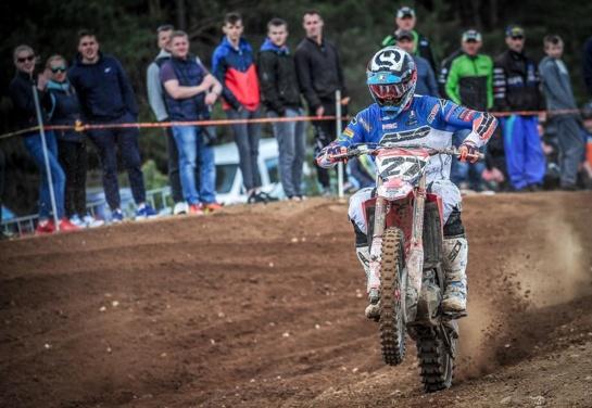 Pirmame Lietuvos motokroso čempionato etape A. Jasikonis parodė pasaulinį lygį