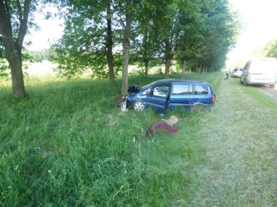 Automobiliui atsitrenkus į medį žuvo vairuotojas