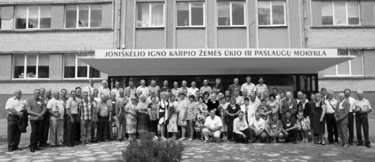 Agronomai ir technikai-mechanikai susitiko po 35 metų…