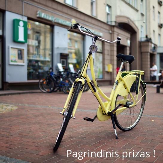 Į Šiaulius - pažinti miesto ir pabandyti laimėti dviratį