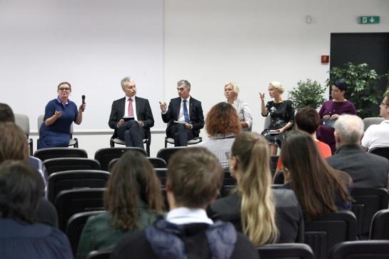 Šiaulių universitete nagrinėtos regiono ekonomikos ir verslo problemos bei galimybės