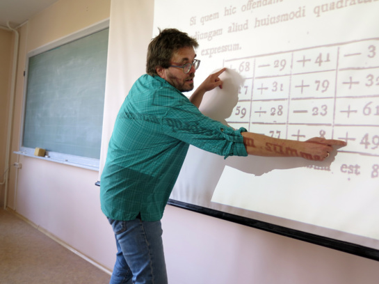 Šiaulių universitete – matematikos profesorių iš Vokietijos ir Tailando paskaitos