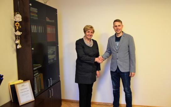 Pasirašyta bendradarbiavimo sutartis su vienu didžiausių regiono darbdavių