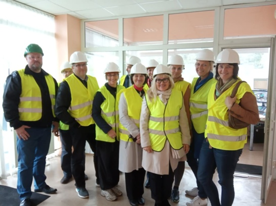 Šiaulių regiono atliekų tvarkymo centre lankėsi delegacija iš Latvijos