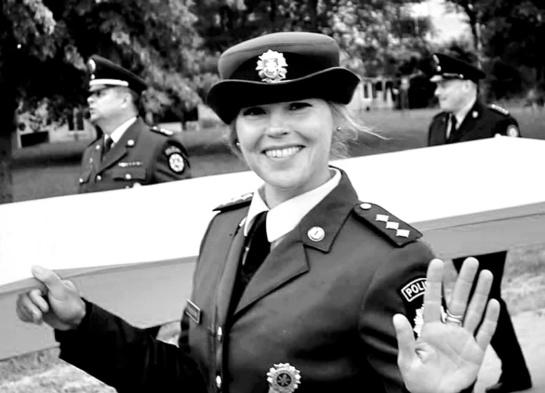 Policijos pareigūnei bėgimas tapo raktu į jos saviraišką