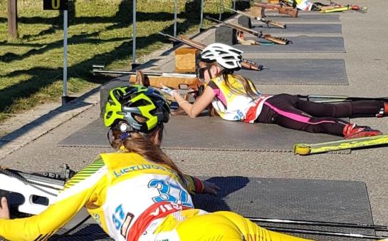 Praėjusį savaitgalį vyko biatlono olimpinio čempiono A. Šalnos taurės varžybos