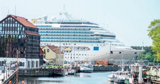 Kruiziniai laivai su Klaipėda atsisveikino iki 2019 m. balandžio
