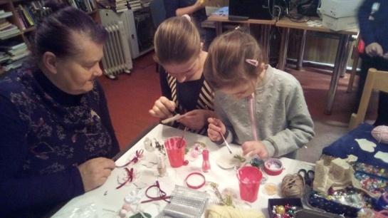 Kašonių bendruomenė ruošiasi kalėdinei šventei