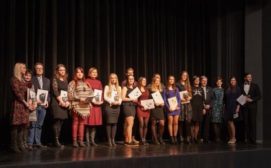 Šiaulių valstybinė kolegija pasveikino savo žvaigždes